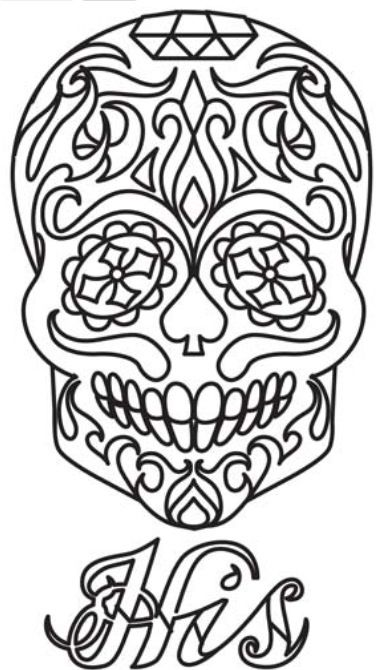 158 best images about Sugar Skulls on Pinterest