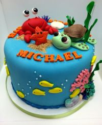 4101 best images about Beach and Sea Cakes on Pinterest ...