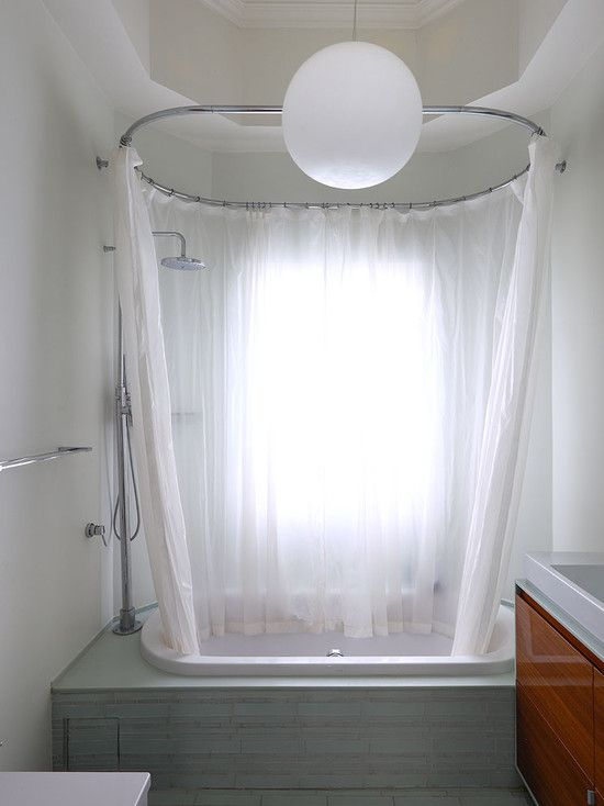 Attic Bathroom Design Window Behind Bath Amp Shower Curtain Bathroom Inspiration Pinterest