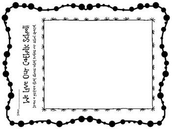Catholic Schools Week Coloring Pages Sketch Coloring Page