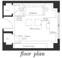 Office/Guest Room Layout. Use a daybed! | Architecture and ...