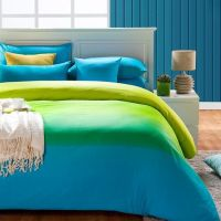 cheap green and blue comforter sets | ... Blue Full And ...