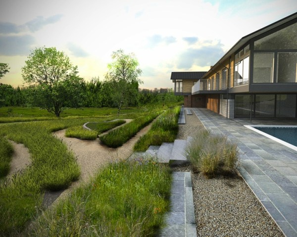 modern natural gardens winchester