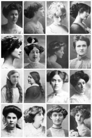 edwardian hairstyles collection