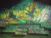 Mural for Fairy Tale play by Roaches, via Flickr | Bella ...