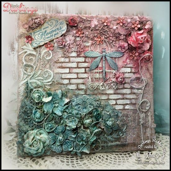 25 Best Ideas About Altered Canvas On Pinterest Mixed
