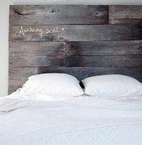 17 Best ideas about Barn Wood Headboard on Pinterest ...