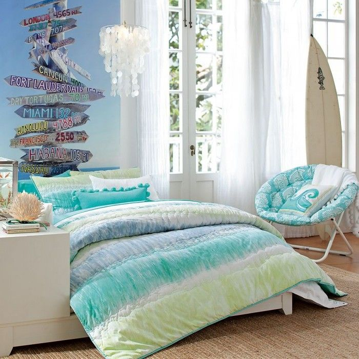 Cool Beach Bedroom Themes That Give New Fresh Nuance Of A Room Beach Themed Bedrooms