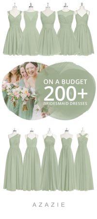 Pink Orange And Green Bridesmaid Dresses