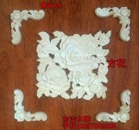 Fashion corners wood carved cabinet applique wood shavings ...