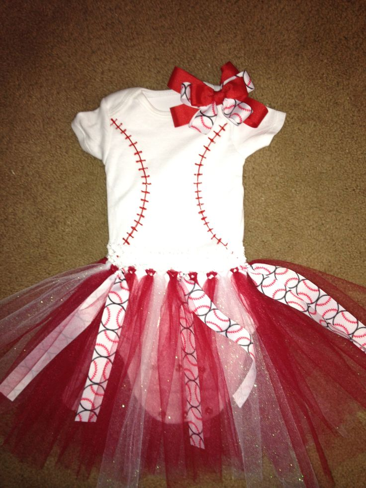 Baby Girls Baseball Outfit This Afternoons Craft