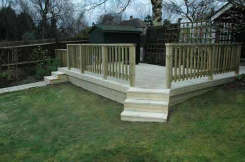 Small Garden Decking Ideas