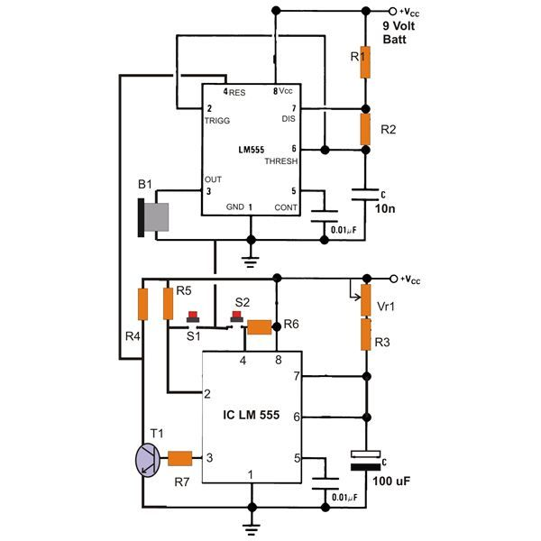 circuit diagram of electric bicycle