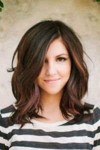 Mittellange Frisuren Brünett Schneller Haare Wachsen