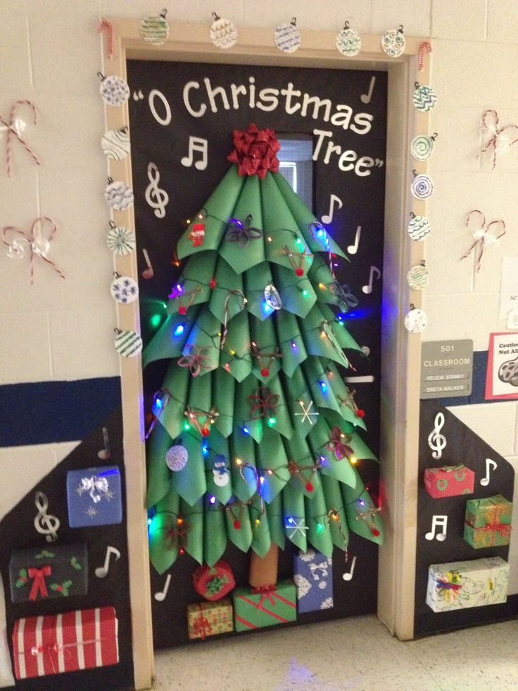 Christmas Door Decorating Contest Ideas For School