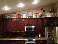 Above kitchen cabinet decor | Home Sweet Home | Pinterest ...