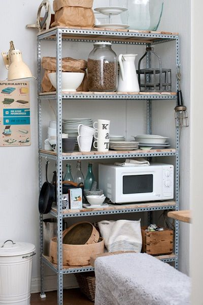 costco small kitchen appliances custom island ideas metal shelf unit with wood shelves used for ...
