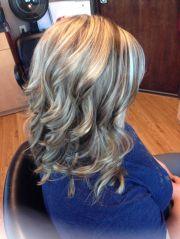 blonde highlights brown lowlights