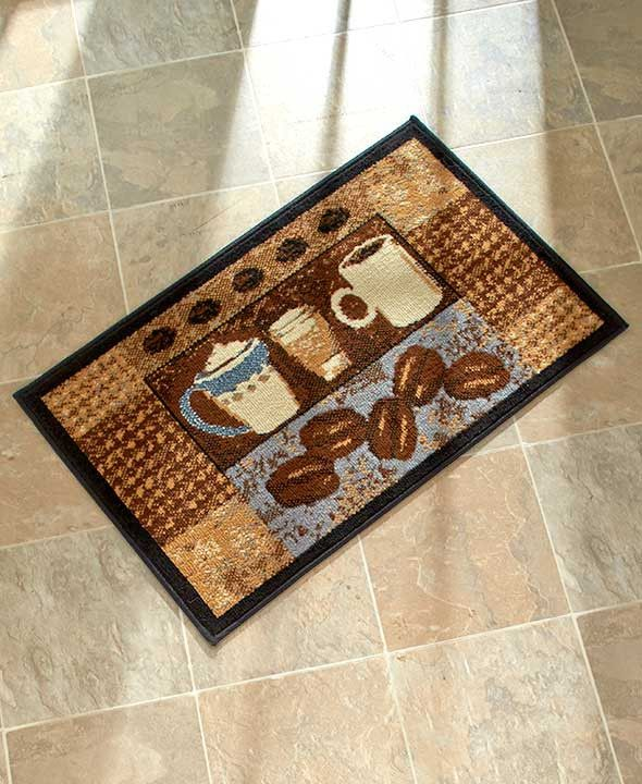 coffee themed kitchen rugs  Home Decor
