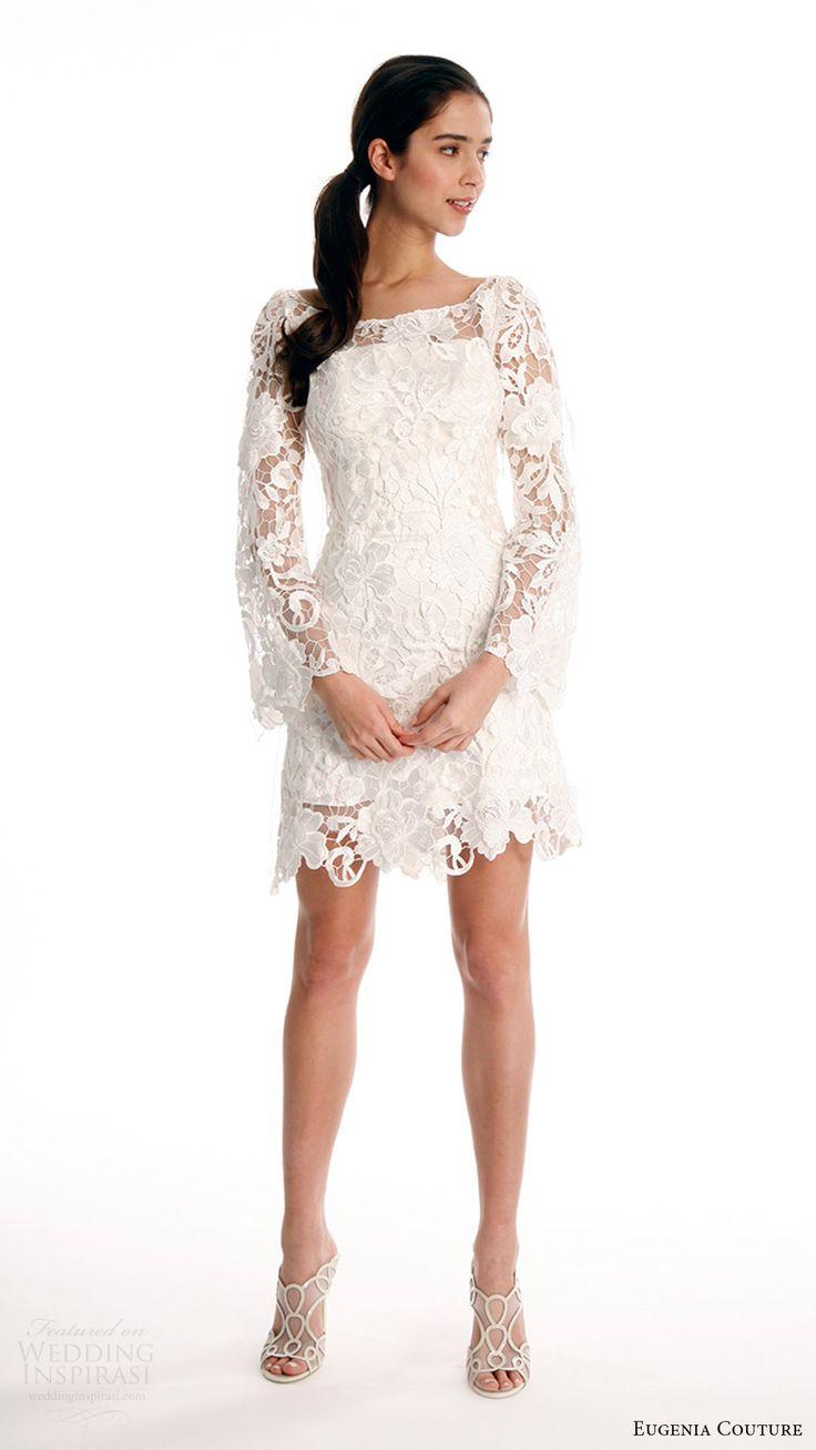 17 Best ideas about Short Wedding Dresses on Pinterest