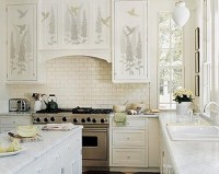 9 best images about Stenciled Kitchen Cabinets on ...