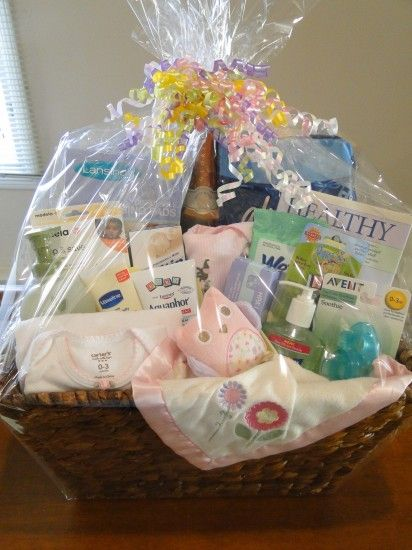 New Baby Girl Mommy Survival Kit…her list is pretty all inclusive! even