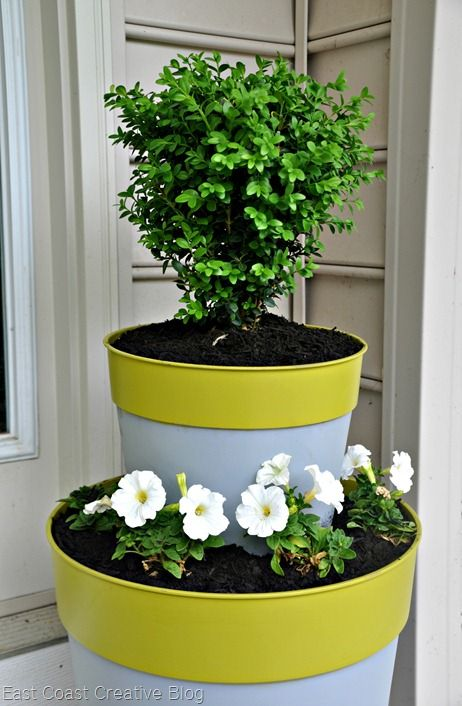 17 Best Ideas About Tiered Planter On Pinterest Planter