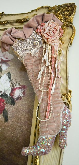 122 best images about Victorian Christmas Stockings on