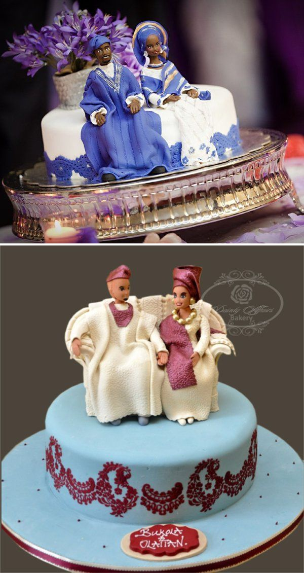 traditional wedding cakes in nigeria Top photo by Dotun ayodeji Photography Bottom image by