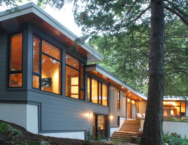 modern exterior trim design decor