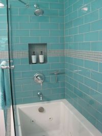 78+ images about Shower Tile - Glass and Mother of Pearl ...