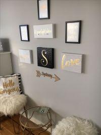 Best 25+ White gold bedroom ideas on Pinterest   Apartment ...