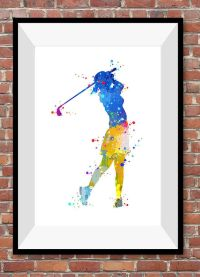 25+ best ideas about Golf painting on Pinterest | Golf art ...