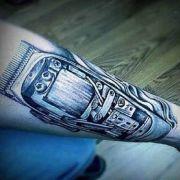 clipper tattoo idea