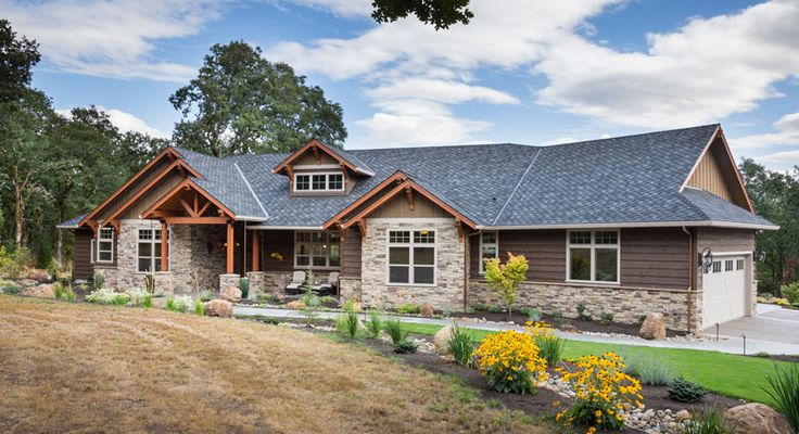 Beautiful Craftsman Ranch House Plan 9215 Features 2,910