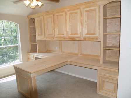 TShaped Desk  Office  Pinterest  Stains Craftsman and