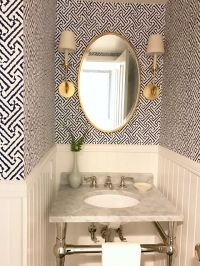 25+ best ideas about Powder Room Wallpaper on Pinterest