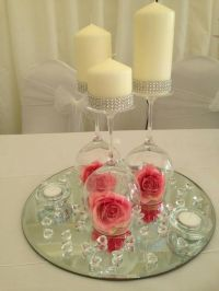 25+ best ideas about Wine glass centerpieces on Pinterest ...