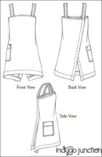 1000+ ideas about Apron Sewing Patterns on Pinterest