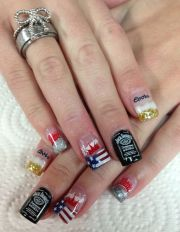country nails ideas