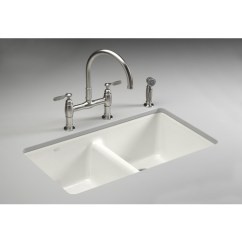 No Touch Kitchen Faucet Wooden Cabinets Wholesale $536.90 Kohler White Cast Iron Undermount Sink ...