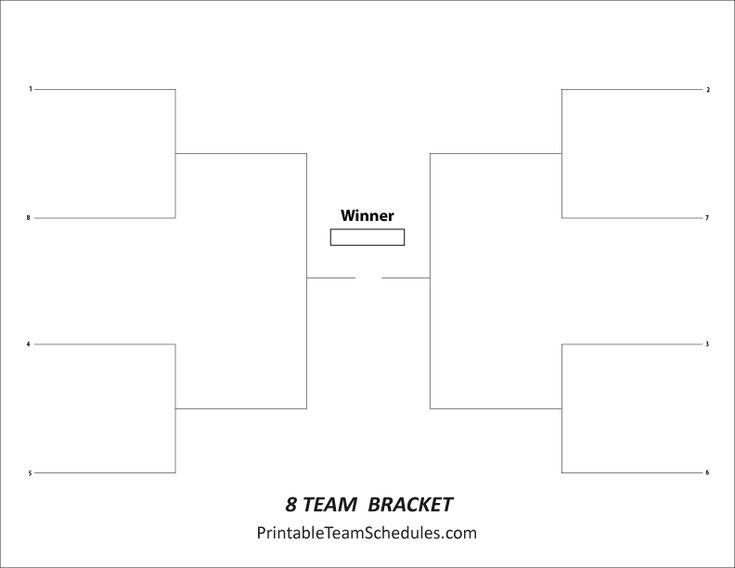 6 Team Double Elimination Bracket Darts