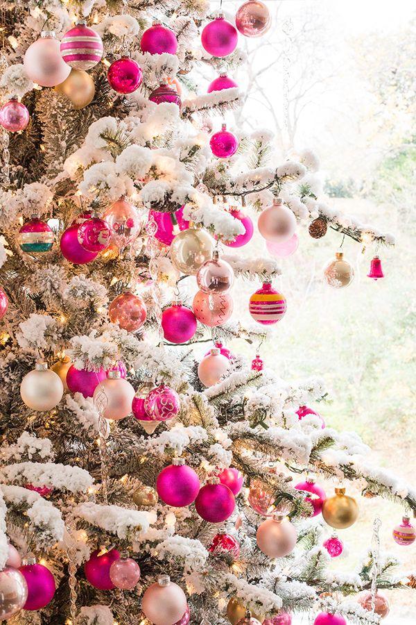 Finally! A Good Pink Christmas Tree Luella June