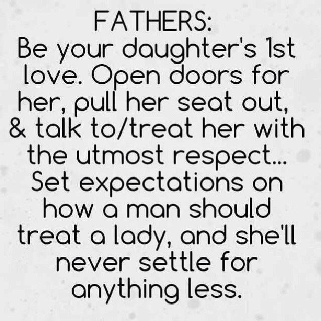 So true! The daddy person is just as important as the