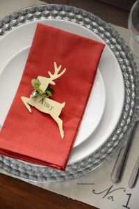 25+ Best Ideas about Christmas Place Cards on Pinterest ...