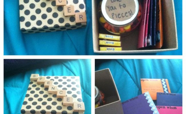Going Away Gift My Boyfriend When He Leaves For College
