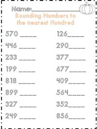 17 Best images about Rounding on Pinterest | Rounding ...