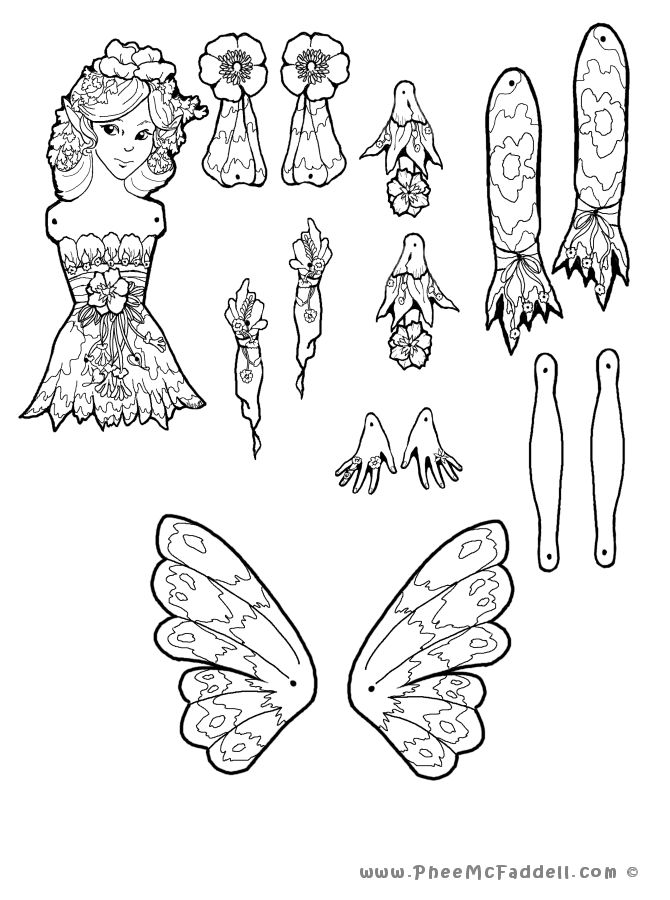 17 Best images about Phee McFaddell coloring pages on