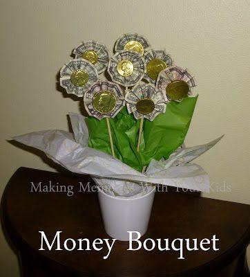 Money Bouquet Bouquets And Money On Pinterest