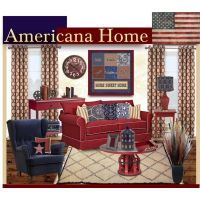 25+ best ideas about Americana Living Rooms on Pinterest